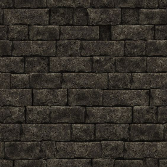 Stone And Wood Make A Dark Masculine Interior: Black Stone Wall Texture - Google Search