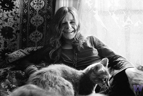 """""""Being an intellectual creates a lot of questions and no answers. You can fill your life up with ideas and still go home lonely. All you really have that really matters are feelings. That's what music is to me."""" ~ Janis Joplin"""
