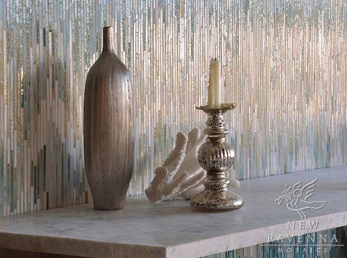Loom in Jewel Glass | New Ravenna Mosaics