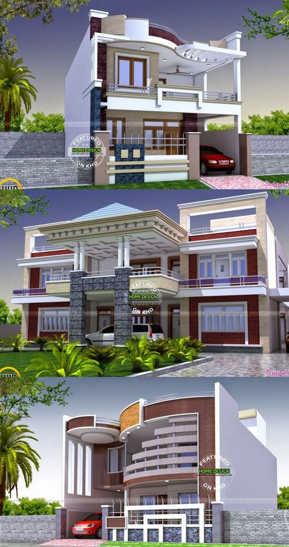 15 Two Story House Perspectives For Inspiration Architectural House Plans Model House Plan Brick Exterior House