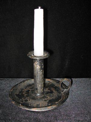 Antique Tin Candle Stick @ Vintage Touch $29.00