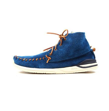 VISVIM Yucca Moc Mid .. What a nice combination with my Levi's !! Don't yah think ? I think so.. haha