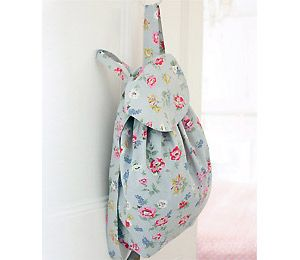 Sew a simple backpack! I'm adding leather and lace as well.