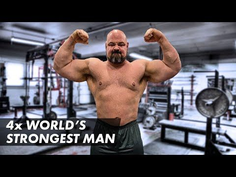 What It Takes To Be The World S Strongest Man 10 Weeks To World S Youtube In 2021 World S Strongest Man Strongman Powerlifting