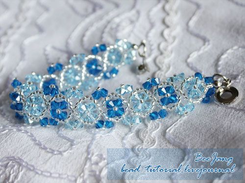 11 Crystal Bead Bracelet Tutorial
