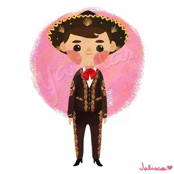Trajes típicos de México by Yasmin Islas - Jalisco