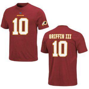 Washington Redskins Robert Griffin III Red