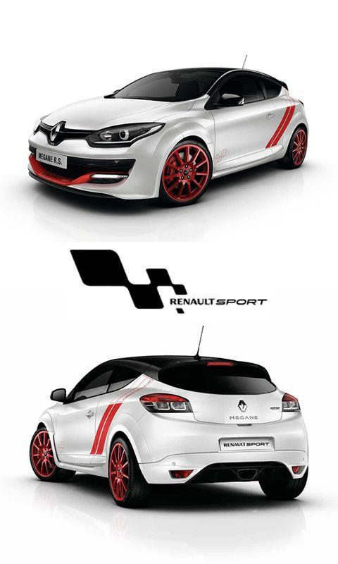 Renault Megane Rs Trophy Motor 2 0 L Turbo Potencia 275 Cv Aceleracion 0 100 Km H 5 9 S Velocidad Maxima 255 Km H Voitures Et Motos Voiture Bugatti