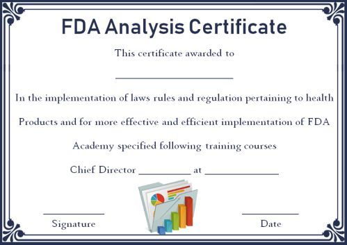 Certificate Of Analysis 10 Templates Available For Word And Pdf