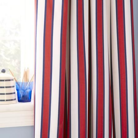 Blackout Curtains boys blue blackout curtains : Kids Varsity Sports Blackout Eyelet Curtains | Dunelm | James_Boys ...