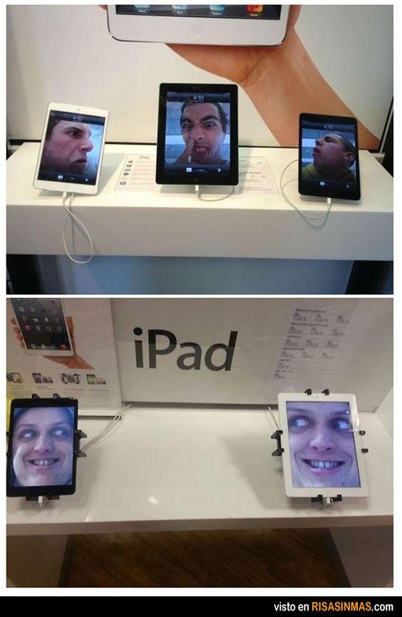 Para esto sirven las tablets.