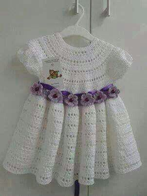 Baby Crocheted Dress