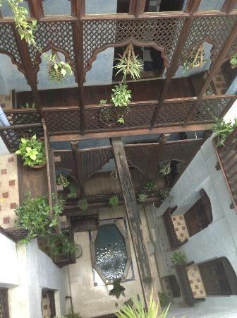 Emerson Spice hotel (Zanzibar) : Inner courtyard