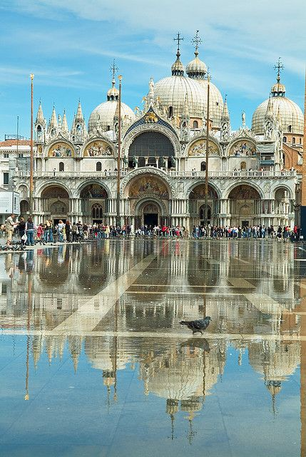 Piazza San Marco (St Mark's Square), is the principal public square of Venice, Italy: