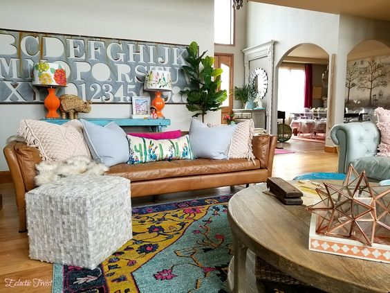3 Tips to Mixing Patterns in Your Decor - Eclectic Twist