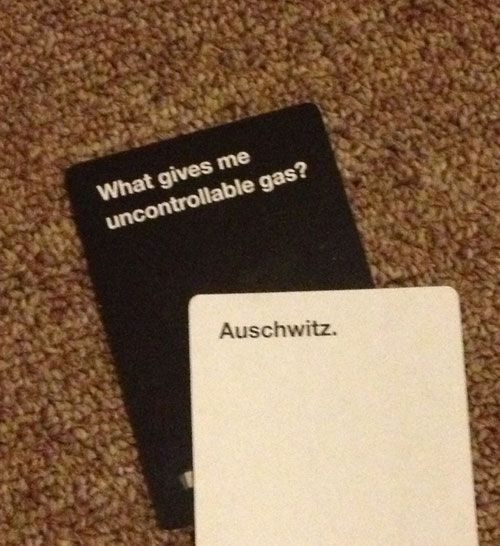 Cards Against Humanity: The best hands ever played in the hilarious card game photo @Amber Carmona