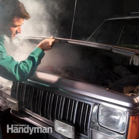 How to Repair a Car Heater Hose: A heater hose repair kit is great insurance against roadside disaster Read more: http://www.familyhandyman.com/automotive/how-to-repair-a-car-heater-hose/view-all