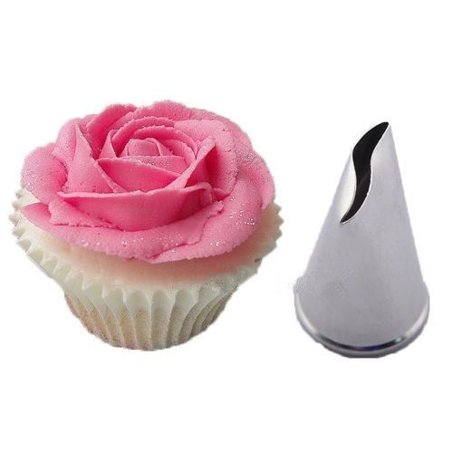Large Size Rose Flower Icing Piping Nozzle Tip Baking Cake Cream Decoration Tool