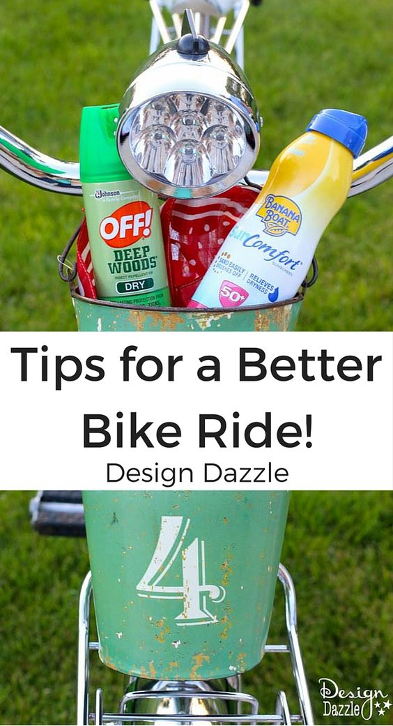 Don`t go on another bike ride this summer without reading these tips for a better bike ride! #ad http://www.designdazzle.com/2016/07/bike-ride/