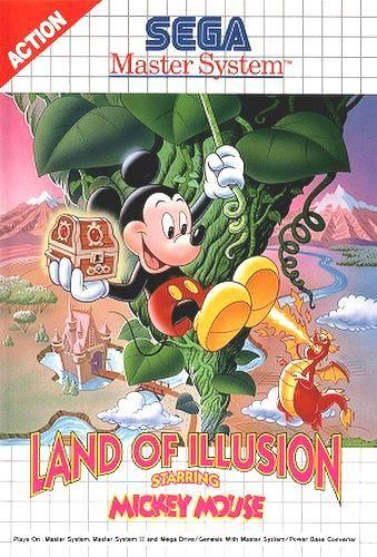 ## neuwertig: #sega master system - land of illusion starr. mickey mouse / ms ## from $49.98