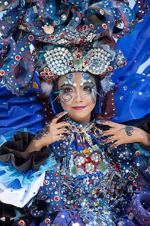 Jember Fashion Carnival, Jember, East Java, Indonesia: