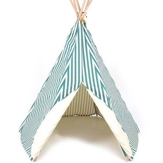 "NOBODINOZ - Tipi Arizona ""Green Stripes"""