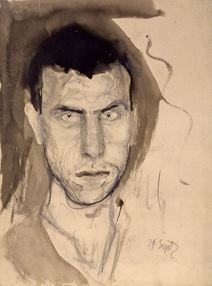 Richard Gerstl - autoritratto 1908