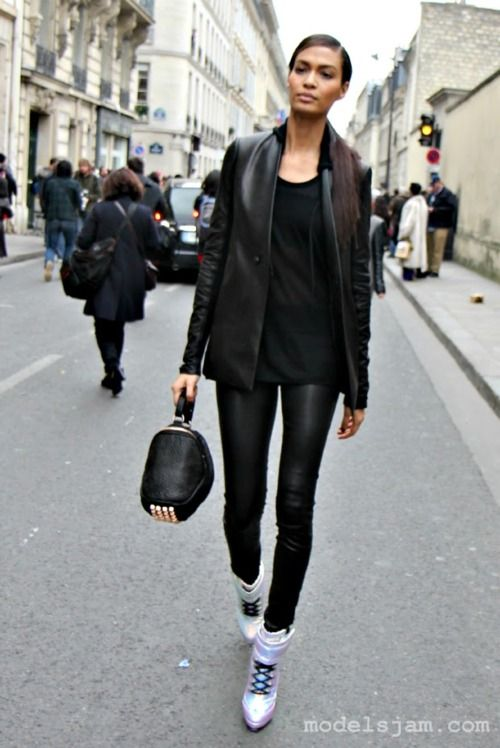 Joan Smalls, Paris, March 2012