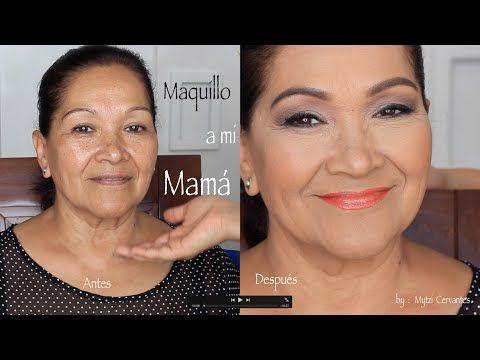 Maquillaje A Mamá Dia De Las Madres 2015 Por Mytzi Cervantes Youtube Maquillaje Para Pieles Maduras Mytzi Cervantes Maquillaje