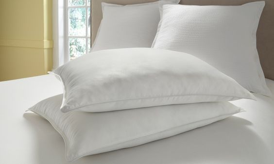 2-Pack of Reversible Memory-Foam to Down-Alternative Pillows | Groupon