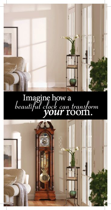 Grandfather Clocks can transform how a room looks! Visit us to see what we can do for you!