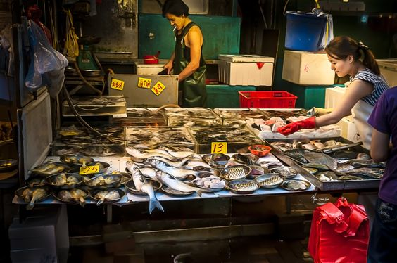 Wan Chai Fish Stall by Marcel Morin on 500px
