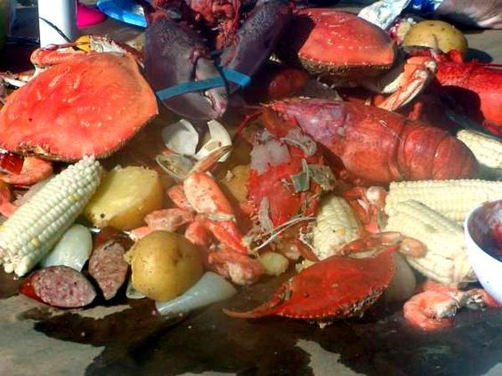 and Lobster) Boil and How to Open and Eat | Recipe | Seafood Boil ...