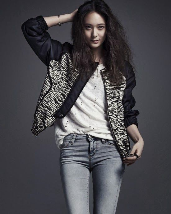 Krystal Jung F X Vogue Magazine April Issue 2014 F X Pinterest Casual Jackets And Jeans