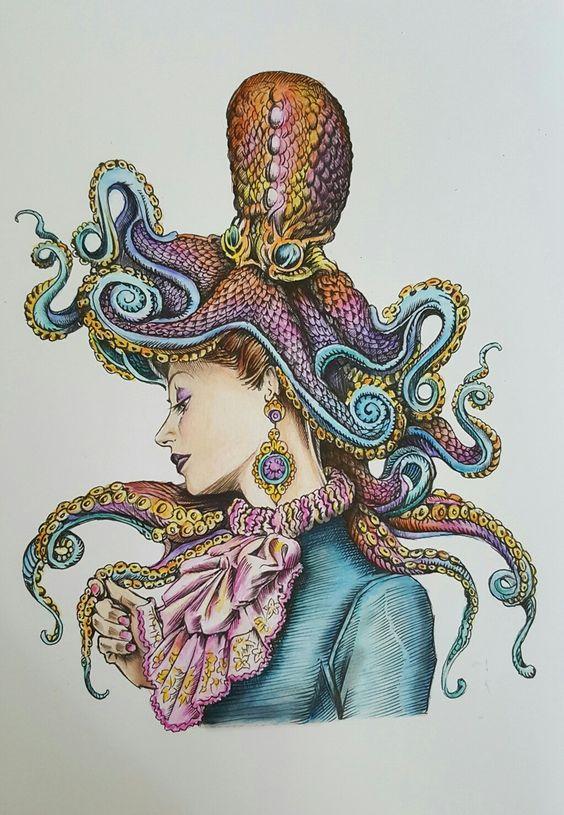 Bennett Klein, colour my Sketchbook, faber-castell art grip Aquarelle