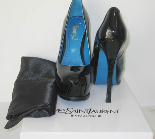 Blue sole YSL Tribtoo. 7 seasons old but I MUST have these. *38