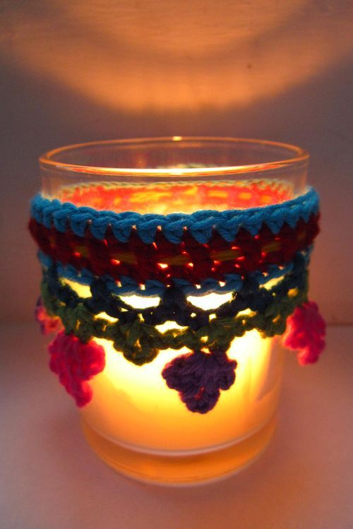 Crochet Candle - Tutorial