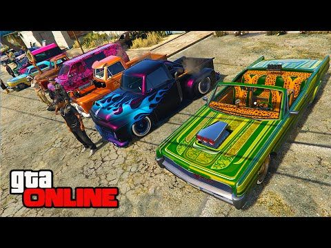 Mexican Car Show Contest Gta 5 Online Pc Youtube