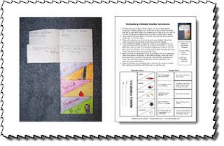 Classroom Freebies: Vocabulary Study Made Easy!