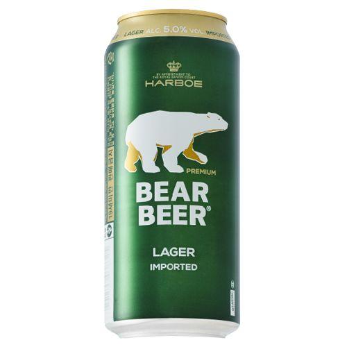 Bia Gấu Bear Beer Premium Lager 5% - Lon 500ml