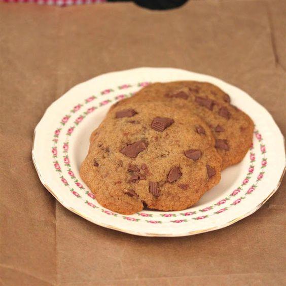 Kitchen Grrrls.: Vegan Gluten Free Chocolate Chip Cookies
