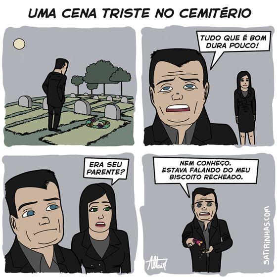 Uma cena muito triste no cemitério! Eitaaaaaa euhehuehue  http://bit.ly/1qtqaMF