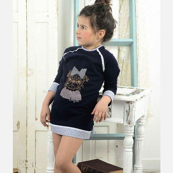 Vestido sudadera Laura Montaño mod Madeleine