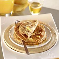 Recette Pour la pause ou le gouter Pancakes banane-coco à la farine de petit épeautre