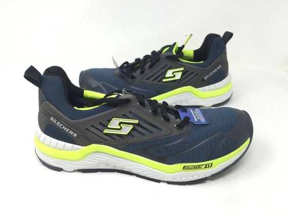 Ebay Sponsored New Skechers Youth Boys Stretch Fit Sneakers Blue
