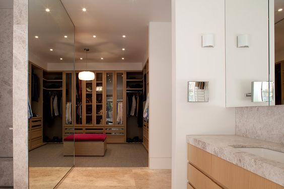 Morcon Developments - Lansell Road Toorak Bathroom Wardrobe