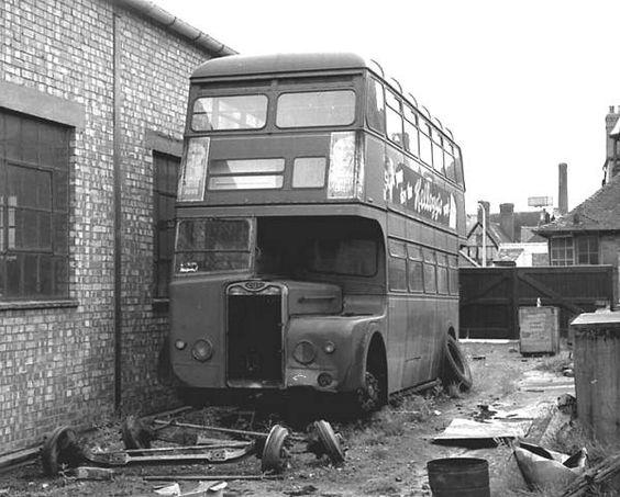 1943 GUY ARAB/ Weymann REDD - Midland Red 2501
