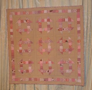 Scrappy Churn Dash Michelle's Romantic Tangle: Sadie {a baby quilt tutorial}