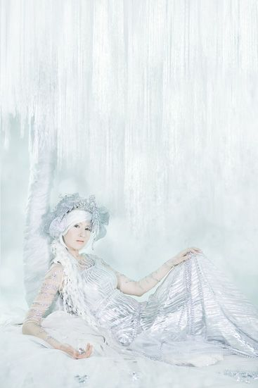 Silver Fairy at the Money Tree~ Laura Hollick #laurahollick #fairy #moneytree