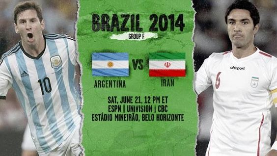 #Iranian Cheetahs Startle #Argentinean Albicelestes Tonight  Today, 12:00 PM • Group F Estádio Mineirão, Belo Horizonte